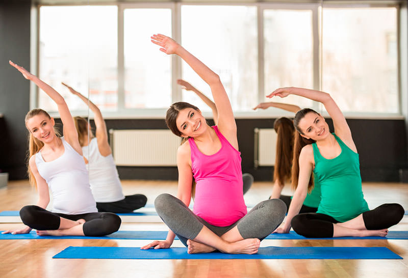 ejercicio fisisco y embarazo dona10 pilate syoga barcelona